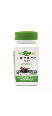 Licorice Root 450 Mg By Nature's Way 100 Capsules • 8.13£