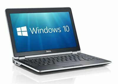 DELL LATITUDE E6320 13.3  INTEL CORE I3 2nd GEN 4GB RAM 320GB HDD WIN 10 WEBCAM • 129.99£