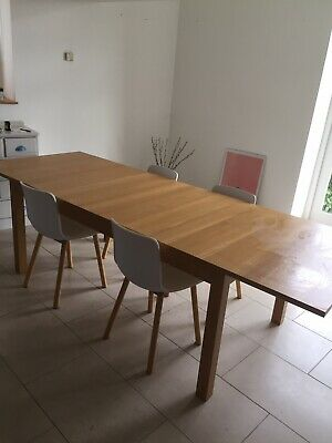 Very Large Extendable Dining Table - Ikea Bjursta  Staffs/derbyshire Collection • 65£