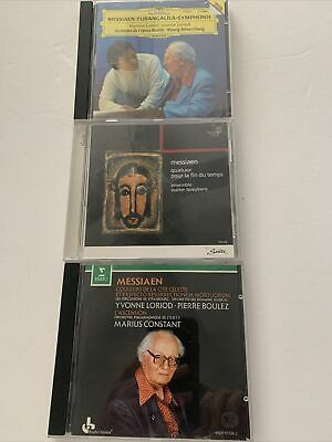 $ CDN7.57 • Buy Lot Of 3 Olivier Messiaen CDs 20th Century French Composer Sacred & Mystic Music
