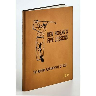 Ben Hogan's Five Lessons: The Modern Fundamentals Of Golf - Leather-Bound Book • 39.27£