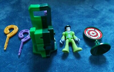 Imaginext DC Riddler Figure, Launcher And Target • 8£