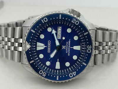 $ CDN1.75 • Buy Lovely Save The Ocean Mod Seiko 7s26-0020 Skx007 Automatic Mens Watch 951573