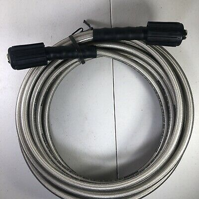 Power Care 25ft X ¼  3200psi M22 Connector Pressure Washer Hose * Made In USA * • 18.59£
