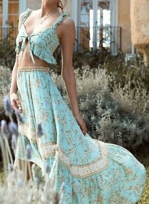 AU83 • Buy Spell & The Gypsy Collective: Vintage Turquoise, Maisie Skirt, Size XL