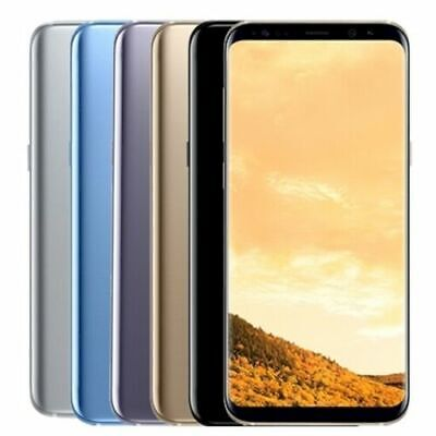 $ CDN284.38 • Buy ⭐⭐SAMSUNG GALAXY S8 G950 G950F 64GB - All Colours - Smartphone Mobile Phone🚚🔥