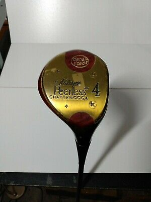 $ CDN59.01 • Buy Vintage Palmer Peerless Chattanooga Persimmon 4 Wood Stiff Steel