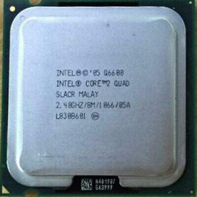 $ CDN20.48 • Buy Intel Core Q6600 Q6700 Q8400 Q9400 Q9500 Q9550 Q9650 Socket LGA775 CPU Processor