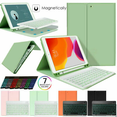 AU45.99 • Buy Bluetooth Keyboard Case Cover For IPad 9.7 5/6th 7th Gen 10.2/Air 1/2/3 / Pro 11
