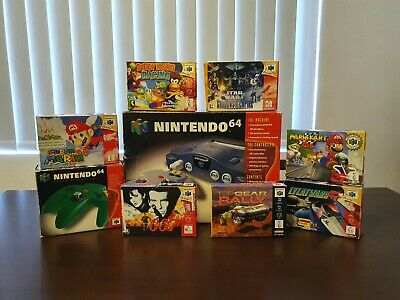 AU1000 • Buy Nintendo 64, N64 Controller, Super Mario, 007, Diddy Kong, Star Wars And More!