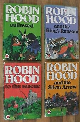 Ladybird Book,Robin Hood,The Slver Arrow,King's Ransom,Outlawed,The Rescue,740 • 7.50£