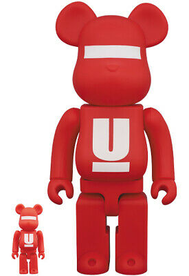 $275 • Buy MEDICOM TOY BE@RBRICK UNDERCOVER LOGO 100% 400% Unopened  Bearbrick Unopened New