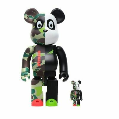 $255.56 • Buy MEDICOM TOY Be Rbrick Atmos Staple 100 400 Bearbrick  Unopened Shippingfree