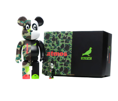 $273.92 • Buy MEDICOM TOY BE@RBRICK Atmos STAPLE #3 100% 400% Bearbrick  Unopened From Japan