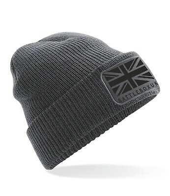 £6.45 • Buy Union Jack Beanie Hat Winter Warm Men's Womens Pull On Thinsulate Thermal Beanie