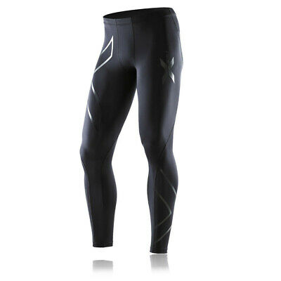£64.99 • Buy 2XU Mens Recovery Compression Running Tights Bottoms Pants Trousers Black Sports