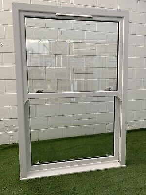 UPVC Vertical Sliding SASH Double Glazed Window Clear Glass  W 1270x H 1865mm • 299£