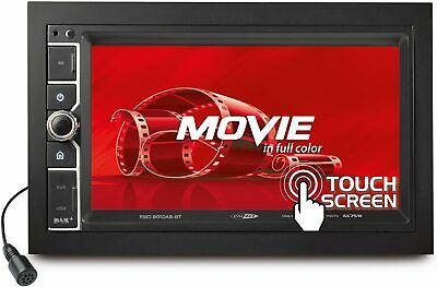 Caliber RMD801DAB-BT 6.5  Touch Screen DAB Bluetooth AM/FM USB Tuner Double DIN • 139.99£