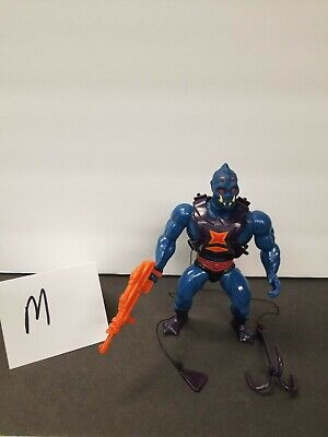$40 • Buy MOTU, Webstor, Masters Of The Universe, Vintage, Figure, Gun, He-Man, Complete