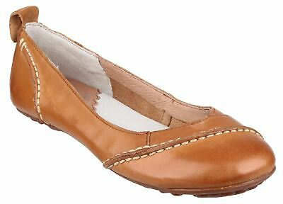 £57.99 • Buy Hush Puppies Janessa Tan Slip On Ladies Shoes Leather