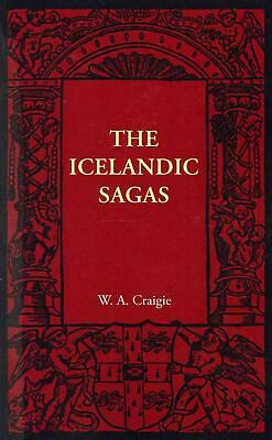 The Icelandic Sagas By William A. Craigie (English) Paperback Book Free Shipping • 25.33£
