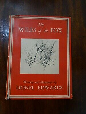 £35 • Buy Wiles Of The Fox Lionel Edwards