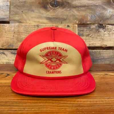 $ CDN56.96 • Buy  Supreme  World Famous  Snapback Hat Red Size Os Used - (3661-22)