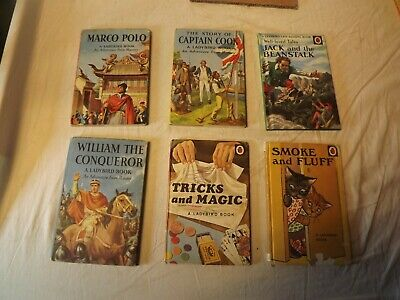 6 Ladybird Books. Inc Marco Polo And Jack And The Bean Stalk • 2.49£