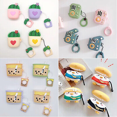 $ CDN8.19 • Buy Cute 3D Chick Cactus Silicone Case Cover For AirPods Pro 3 2 Charging Case