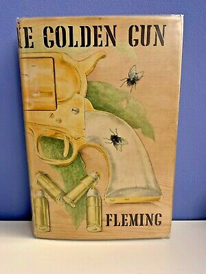 The Man With The Golden Gun By Ian Fleming 1965 1st / 1st  Original Dust Jacket  • 11.50£