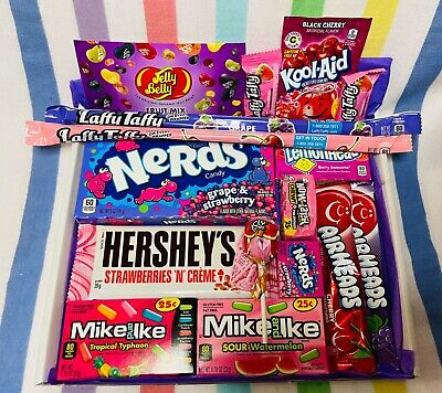 £12.99 • Buy  Hersheys American Candy Gift Box Pink Purple USA Import Sweets Chocolate Jelly