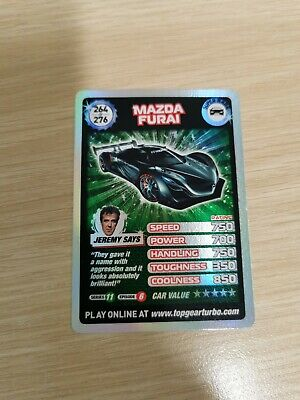 £15 • Buy Top Gear Turbo Challenge SUPER RARE TRADING CARDS 264/276