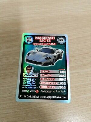 £10 • Buy Top Gear Turbo Challenge SUPER RARE TRADING CARDS 259/276