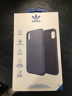 AU9.17 • Buy IPhone X / XS Case Adidas Originals - Blue