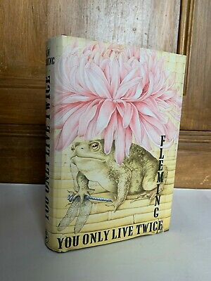 RARE - You Only Live Twice By Ian Fleming 1965 1st / 3rd Near Fine STUNNING DJ • 11.50£