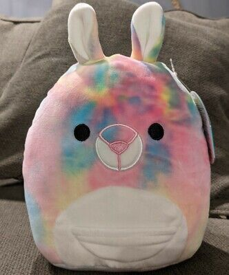 $ CDN30 • Buy Squishmallows 8  Blanca Rainbow Tie Dye Kangaroo Canadian Exclusive BNWT VHTF