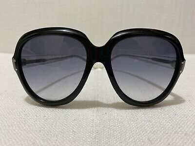 £142.25 • Buy *RARE* OLIVER GOLDSMITH Black  SANDY  Sunglasses W Clear Acetate Arms 56-17-145