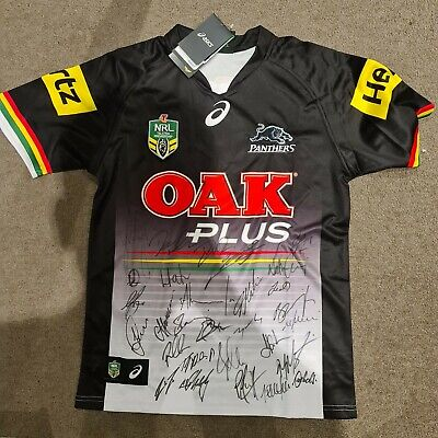 AU79 • Buy Signed Penrith PANTHERS NRL 2018 JERSEY