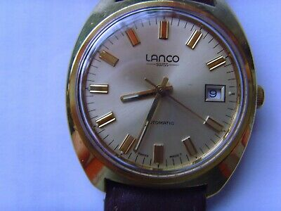 A Mans Used Automatic Lanco Watch. Great Condition. Great Timekeeping. • 90£
