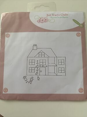 Clear Stamps For Card Making House New Home Crafting • 2.50£
