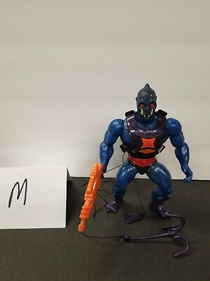 $45 • Buy MOTU, Webstor, Masters Of The Universe, Vintage, Figure, Gun, He-Man, Complete