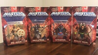 $50 • Buy Masters Of The Universe 200x Lot - He-Man, Skeletor, Stratos, & Beast Man