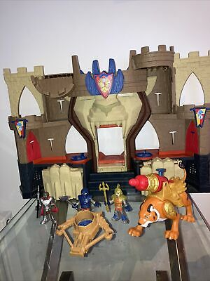 Imaginext Lion's Den Castle - Fisher Price - Good Condition- Light And Sound • 16.50£