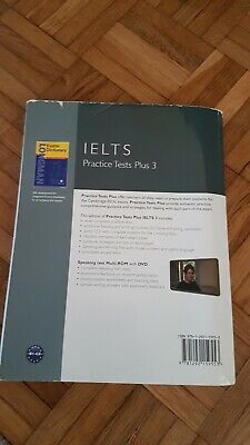 Practice Tests Plus IELTS 3 With Key With Multi-ROM And Audio CD Pack By Margar… • 1.99£