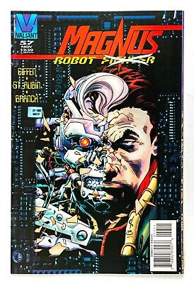 $3 • Buy Magnus Robot Fighter #57 (1991 Valiant) Corrected Pages Layout! NM-