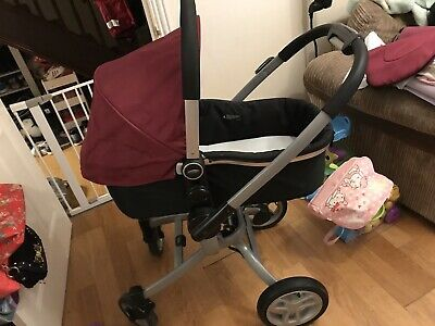 Graco Symbio  3in1 Pram  Pushchair Travel System • 150£