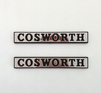 £27.34 • Buy ⭐ New X2 Monogrammers Cosworth Wings Ford Sierra Rs 4x4 Sapphire Logo Badge