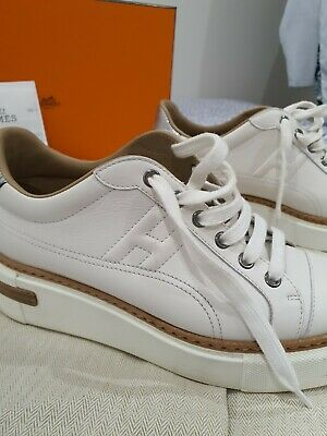 AU800 • Buy Hermes Authentic White Women Casual Shoes