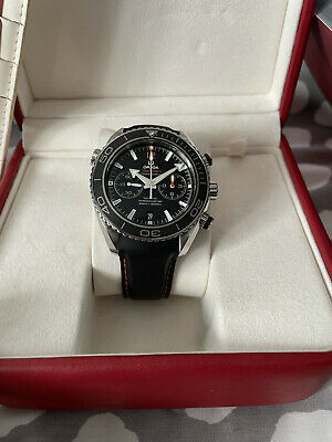 Omega Planet Ocean Chronograph 45.5mm With 3  Straps! • 4,000£