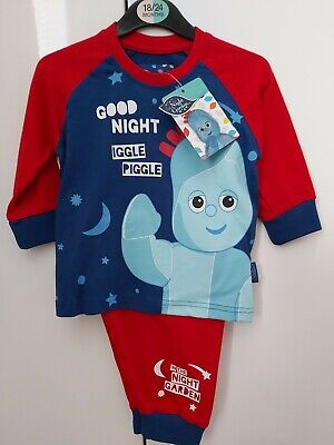 In The Night Garden Iggle Piggle Pyjamas  Age 18-24 Months NEW 100% Cotton  • 7.99£